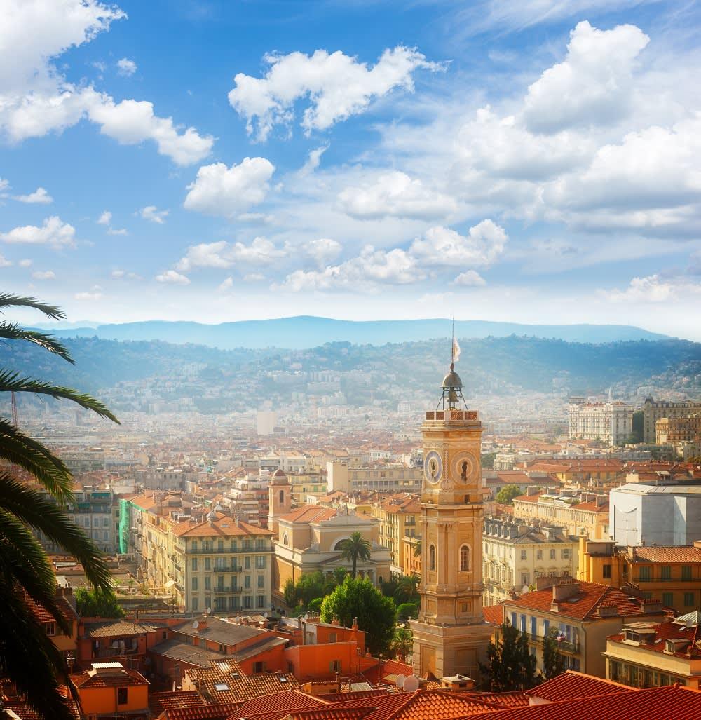 Stadtansicht von Nizza