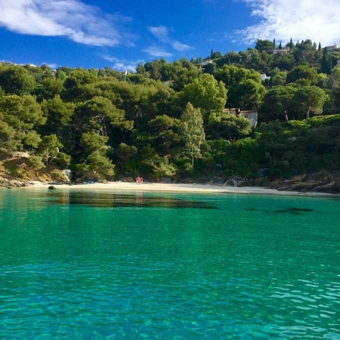Playa de l'Eléphant, en la Costa Azul.