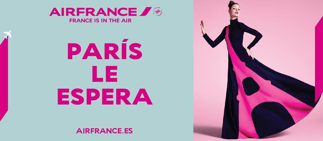 Vuela a París con Air France