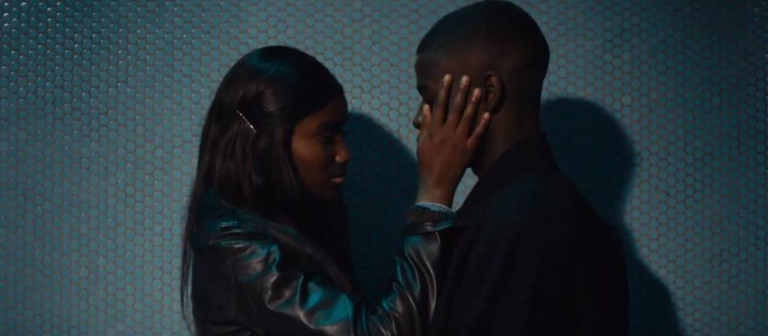 Love in the air between Karidja Touré and Idrissa Diabaté in Céline Sciamma's film 'Girlhood'