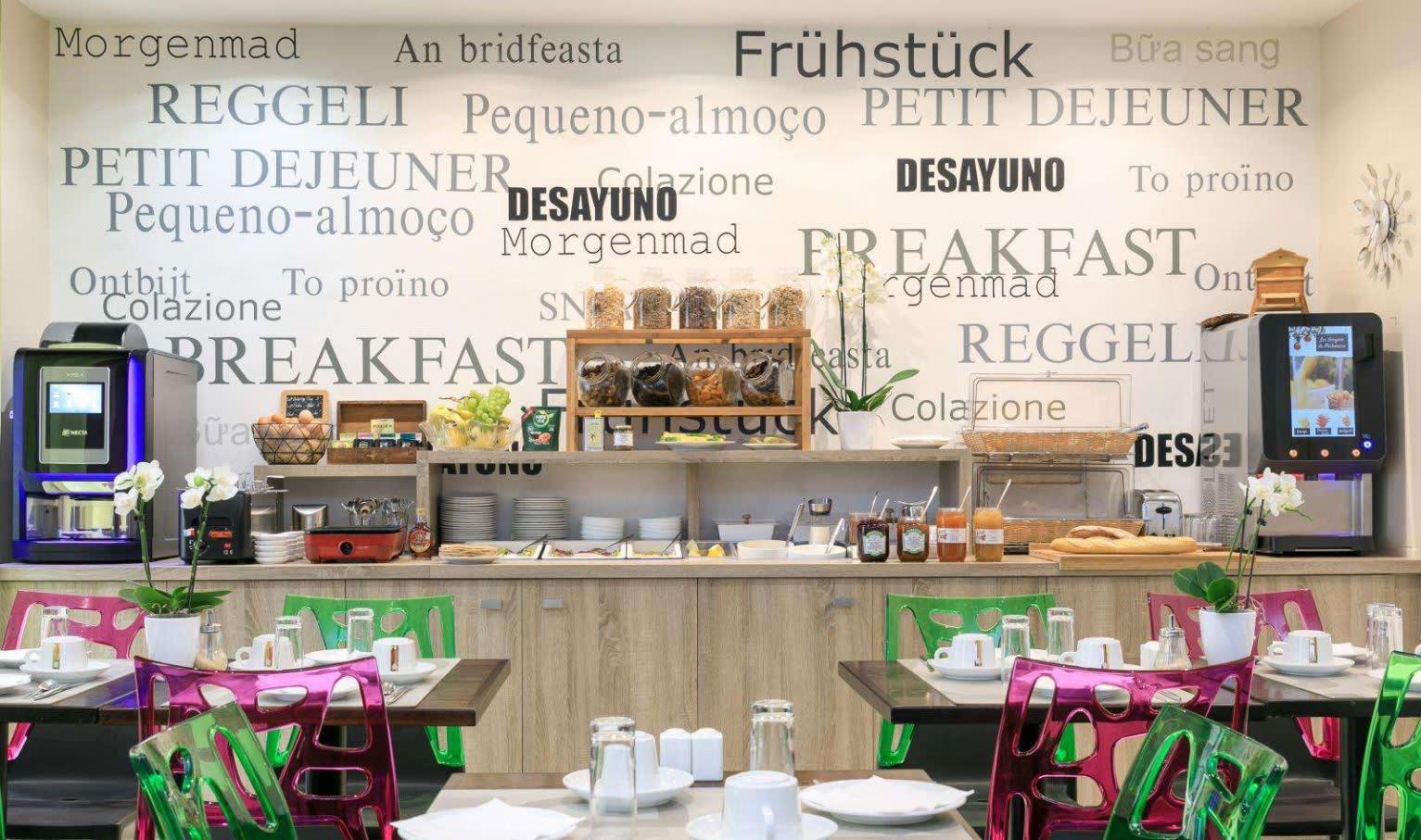 Hotel Florence Nice - Frühstück