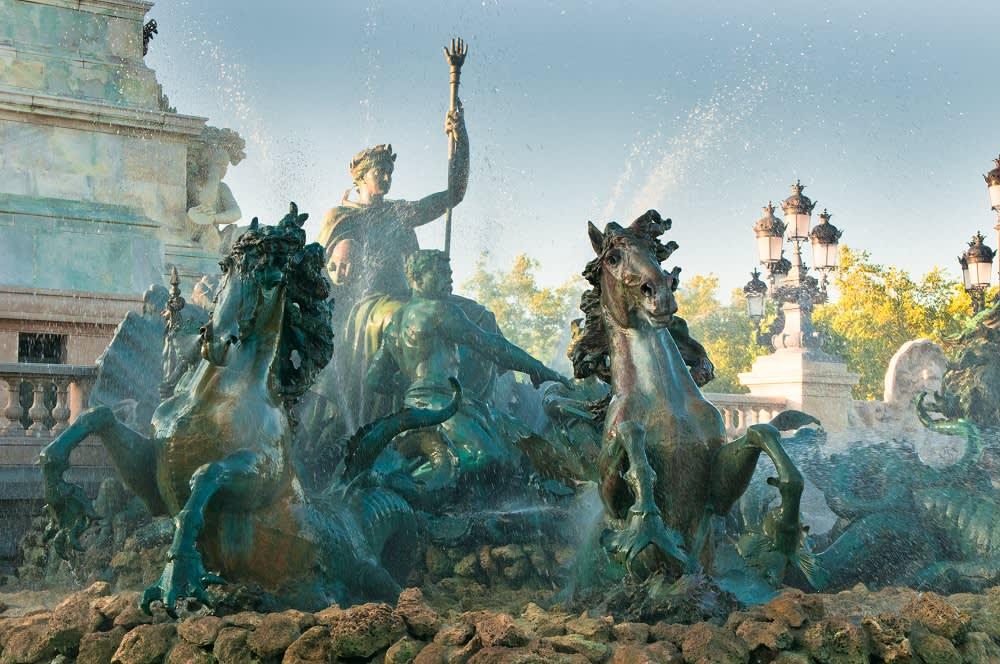 Monument Aux Girondins in Bordeaux