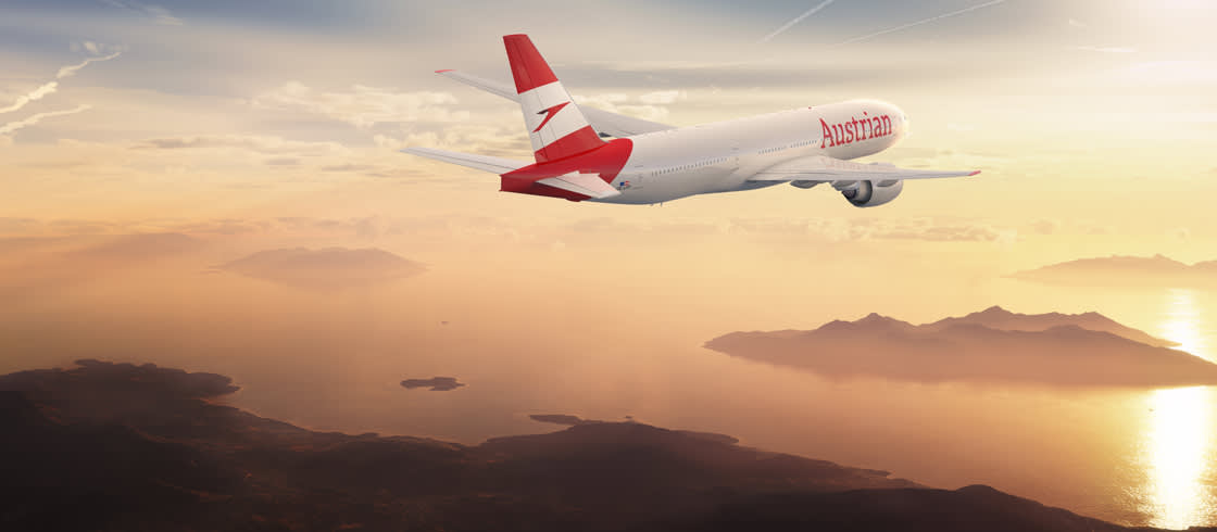 Austrian Airlines Nizza