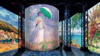 Monet, Renoir, Chagall... Todos ellos artistas a redescubrir en el Atelier des Lumières en París, a través de una experiencia inmersiva que el arte digital vuelve posible.