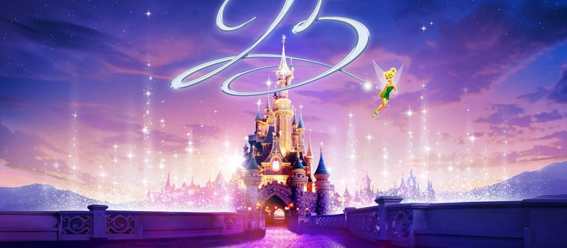 Karte Disneyland Paris Attraktionen.Das Disneyland Paris