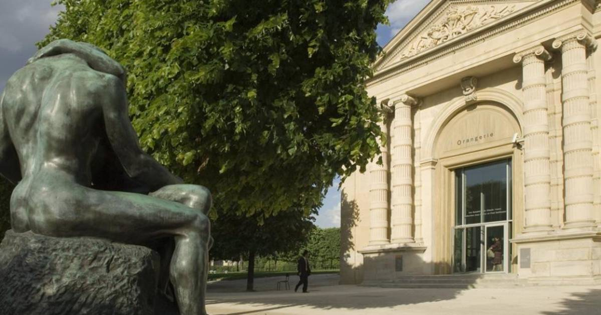 Das Musée de l\'Orangerie in Paris
