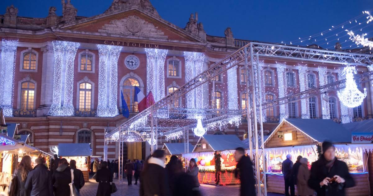 Le Marché de Noël (Mercado de Navidad)