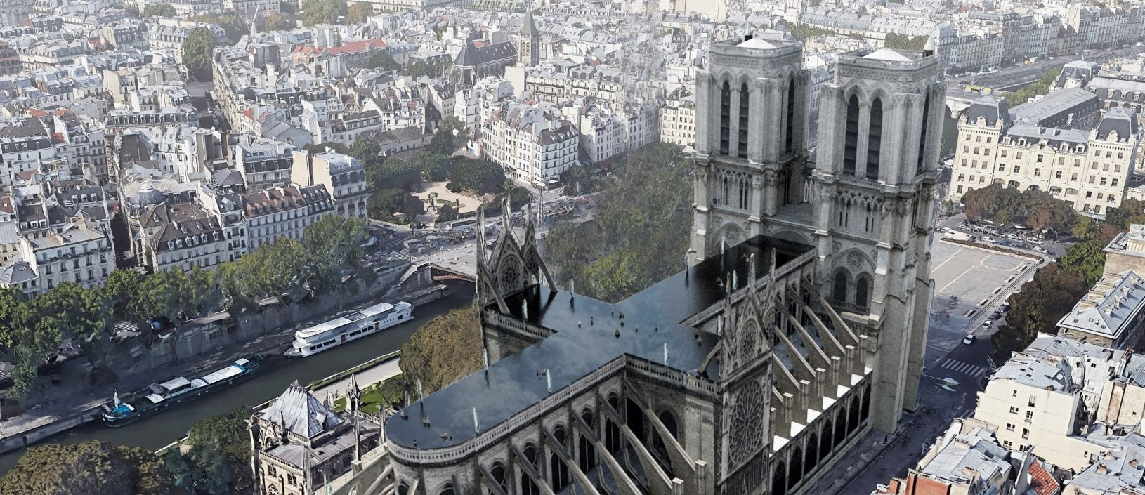 Comment Faire Un Petit Pont 5 thought-provoking proposed modern designs for notre dame
