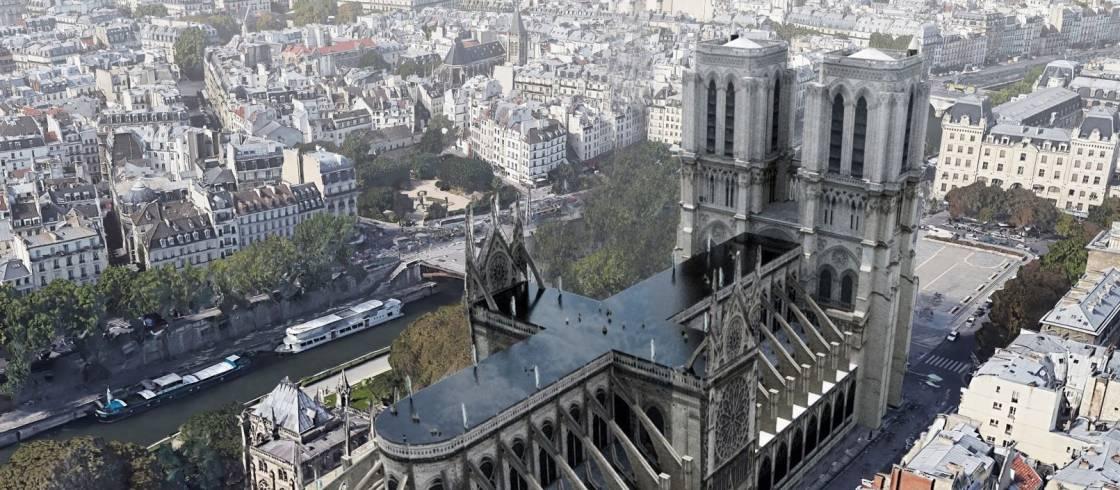 """كاتدرائية """"نوتردام - دو باري"""": 6 مشاريع مجنونة لترميمها"""