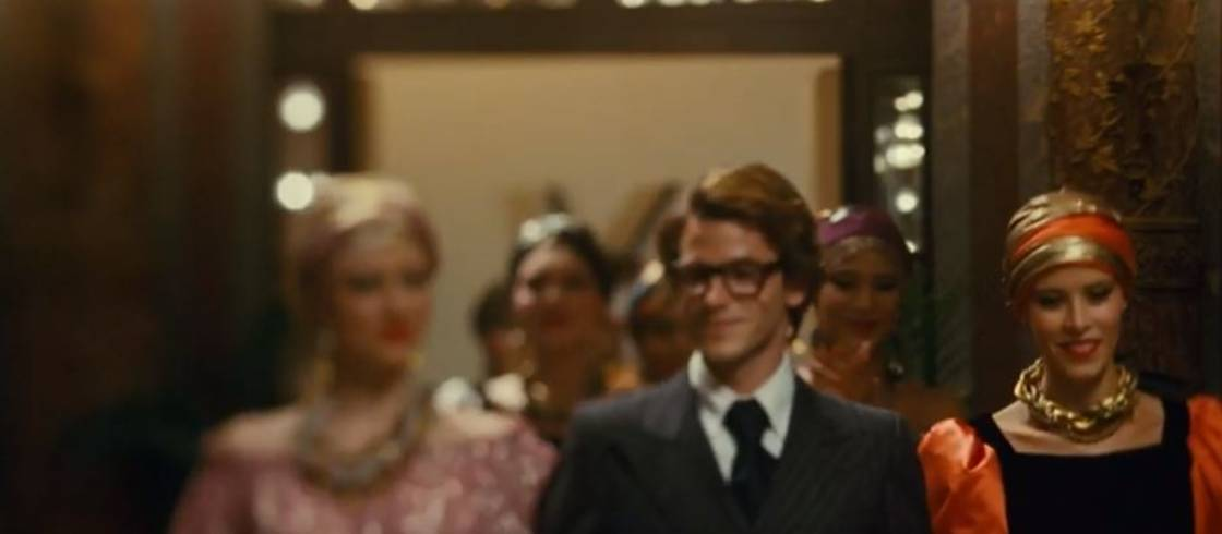 Gaspard Ulliel interprète Yves Saint-Laurent dans le film Saint-Laurent de Bertrand Bonello.