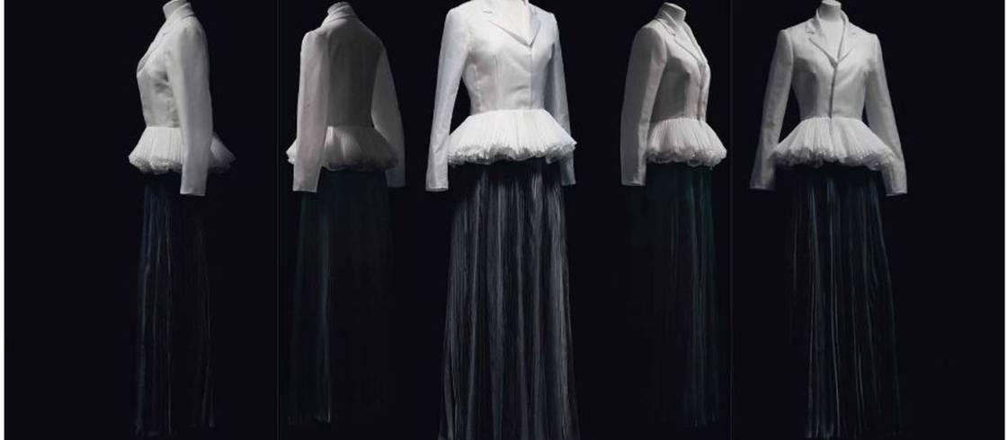 """Maria Grazia Chiuri pour Christian Dior : tailleur """"Rêve infini"""", collection haute couture printemps-été 2017"""