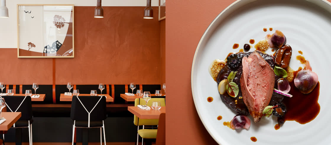 At La Mutinerie in Lyon, chef Nicolas Seibold creates surprise menus
