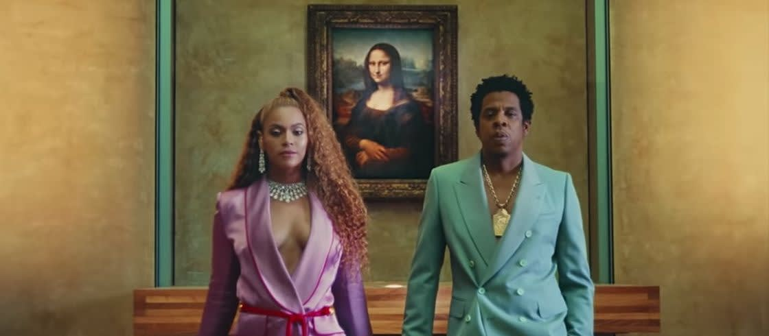 "The Carters - ""Apeshit"" video."