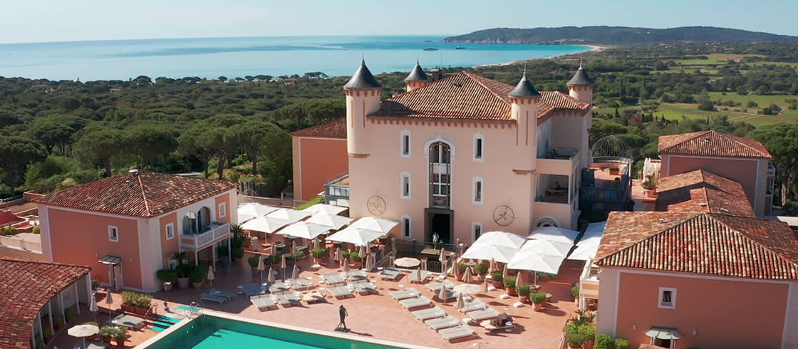 Palaces de France collection - Le Château de la Messardière, Saint-Tropez. An elegant take on Provence.