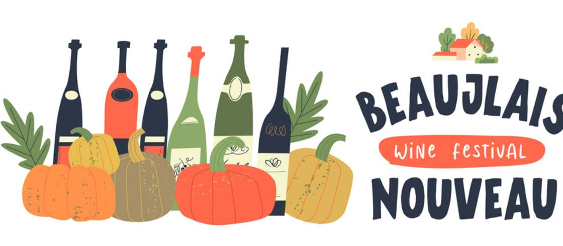 Den tredje torsdag er en speciel dag i Frankrig - her fejres den nye årgang af unge Beaujolais-vine