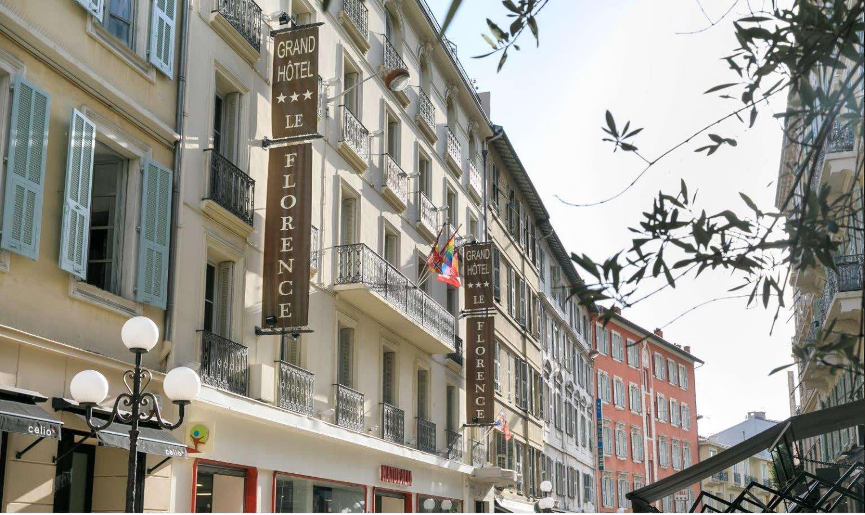 Hotel Florence Nizza Fassade
