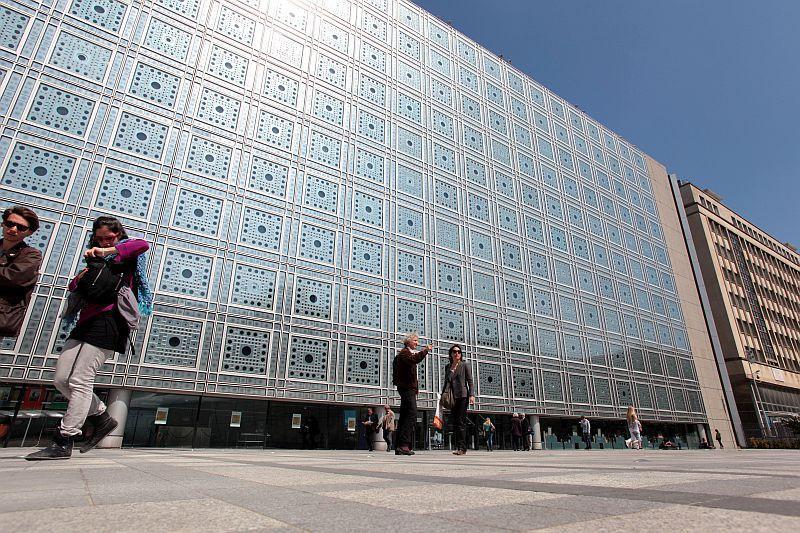 Das institut du monde arabe in paris