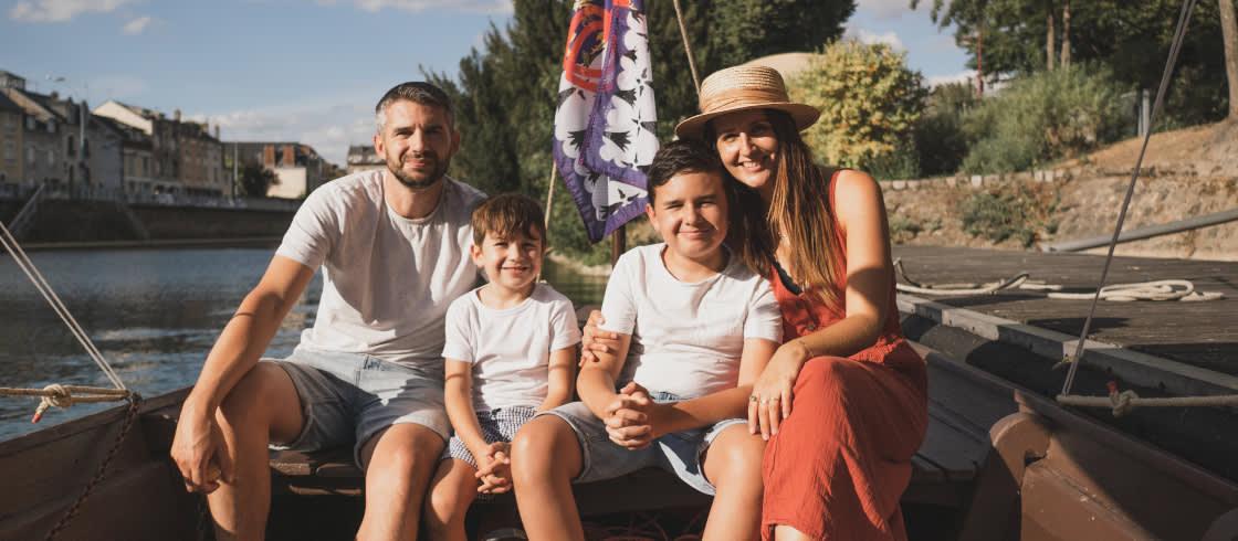 Vacaciones en familia para Gang of Mothers en Loira Atlántico.