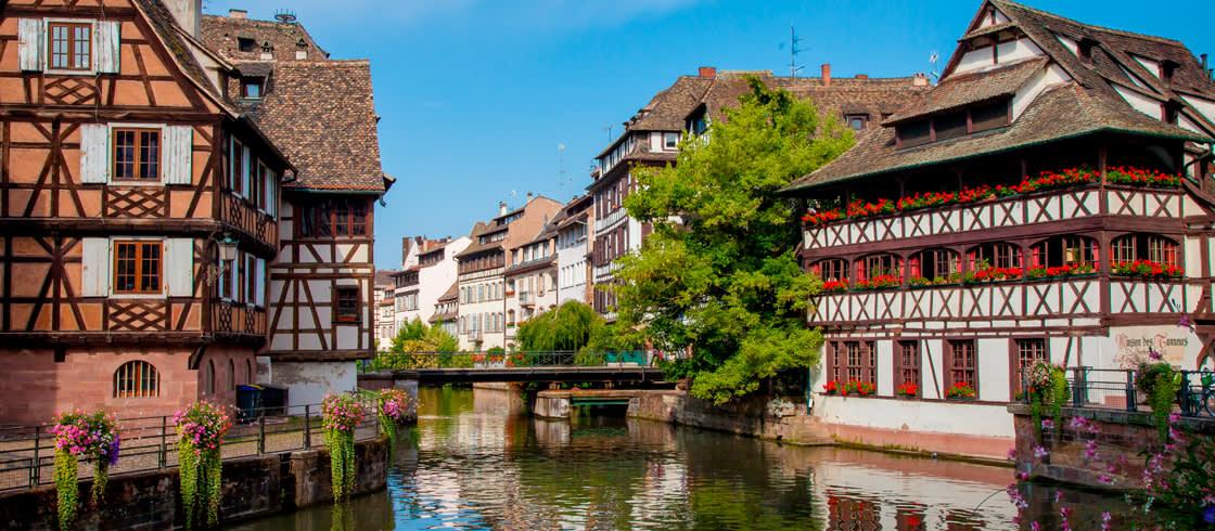 El barrio más famoso de Estrasburgo, la Petite France es un lugar de visita obligada.