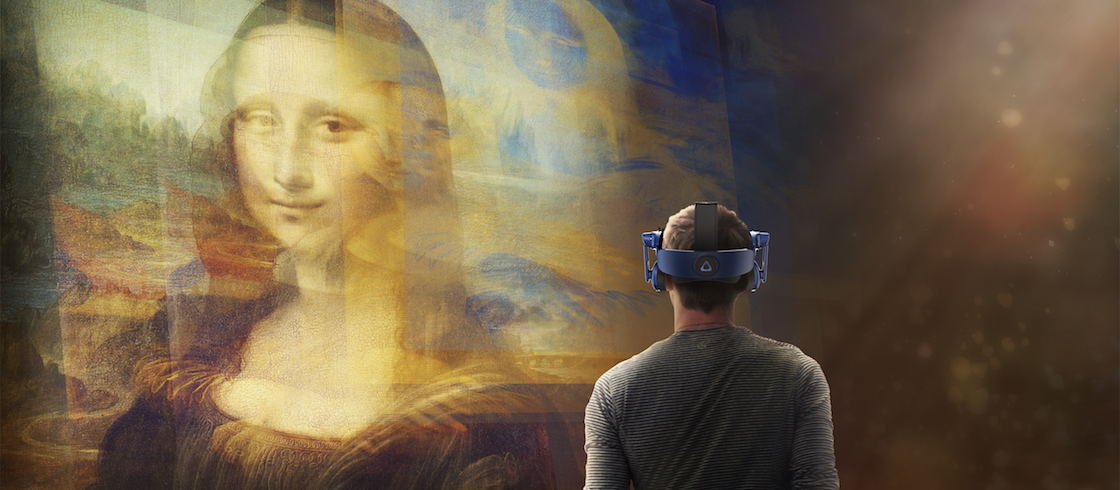 Still from Mona Lisa Beyond the Glass, Courtesy Emissive and HTC Vive Arts (4)