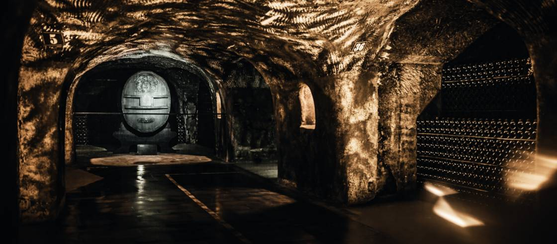 8 Cellars Where The Champagne Sparkles