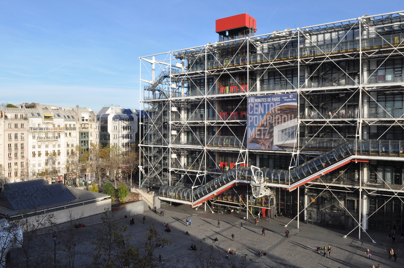 Parigi PianoIl Dopo Beaubourg Mia E La Renzo Quarant'anni 7vgyfb6Y