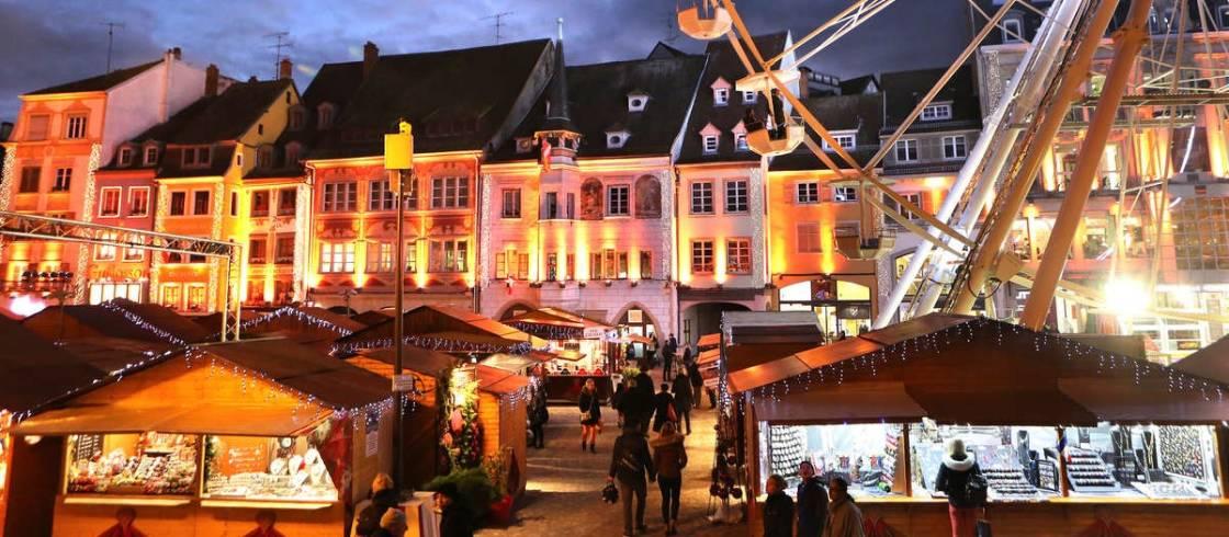 Kerst In Mulhouse Kerstmarkten En Festiviteiten