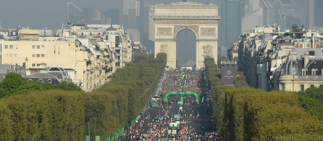 De marathon van Parijs neemt je mee langs vele highlights van de stad.