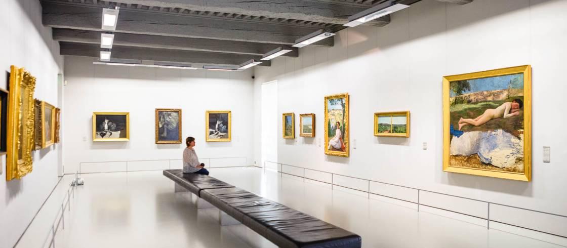 Exposición de arte moderno -Museo Fabre de Montpellier
