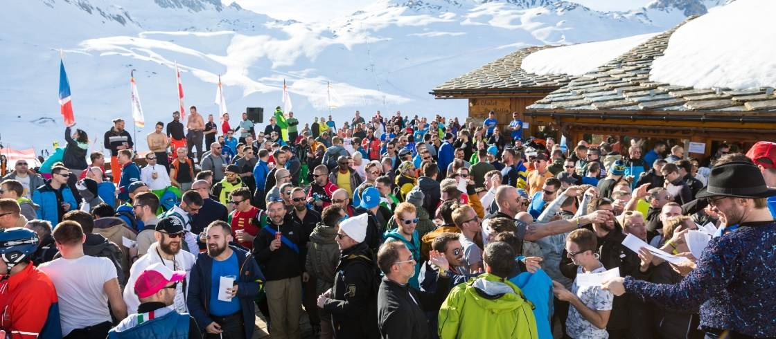 High in the French Alps lies one of the world's coolest Pride event—and certainly one of the highest-elevation.