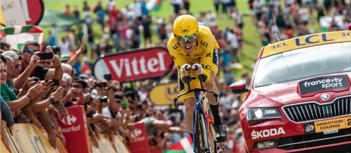 Foto's van de Ronde van Frankrijk in 2018
