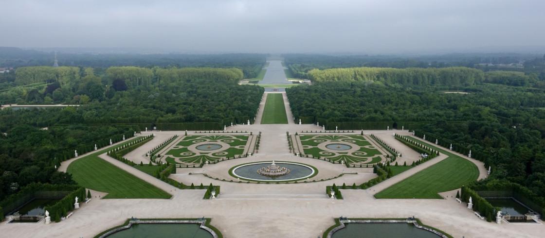 Un voyage d hiver au ch teau de versailles avec le - Jardin du chateau de versailles gratuit ...