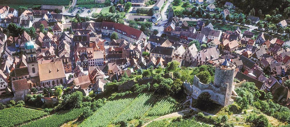 Kaysersberg,el pueblo preferido de los franceses en 2017.