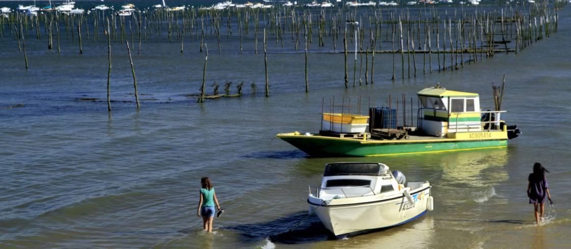 La bahía de Arcachon