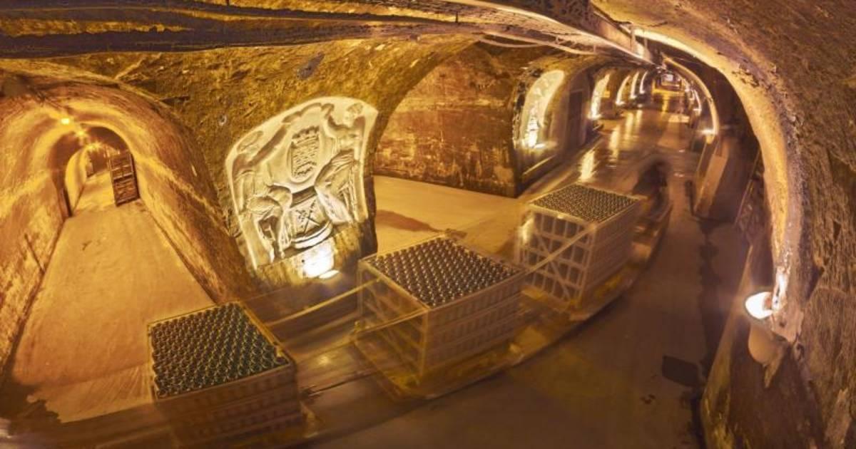 Tidssvarende Visit the Domaine Champagne Mercier in Epernay VK-71