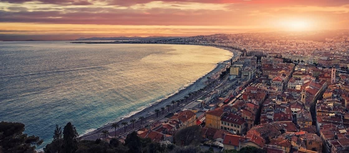 Winter an der Côte d\'Azur… in Nizza