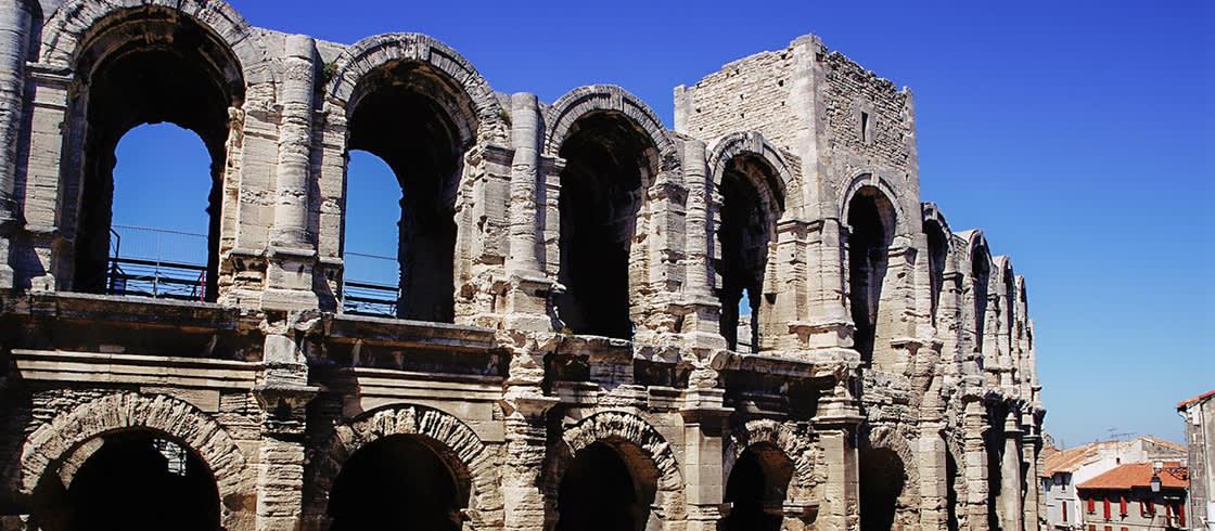 El teatro romano de Arles es un lugar excepcional durante el verano para la representación de espectáculos.