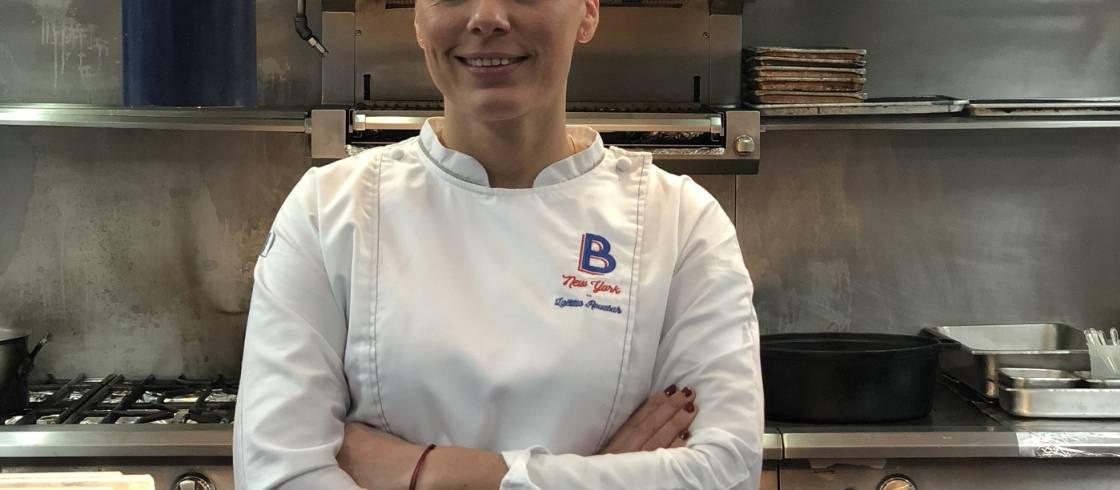 Chef Laetitia Rouabah
