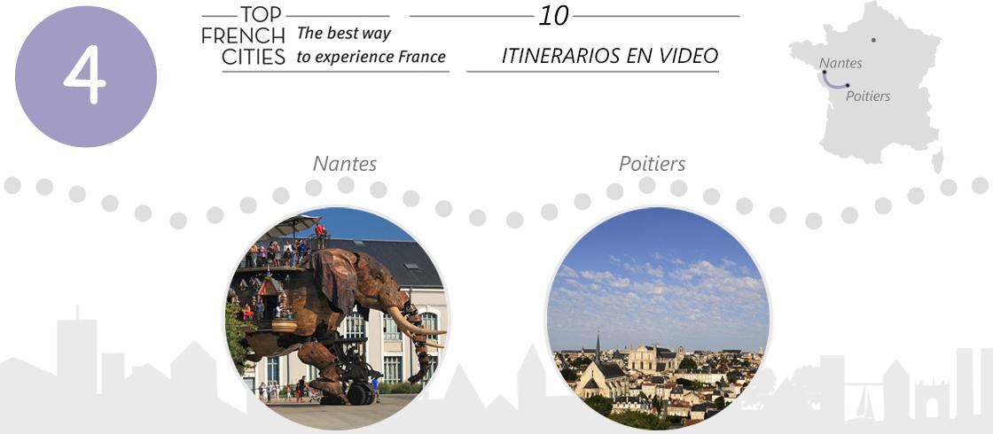Itinerario Nantes Poitiers