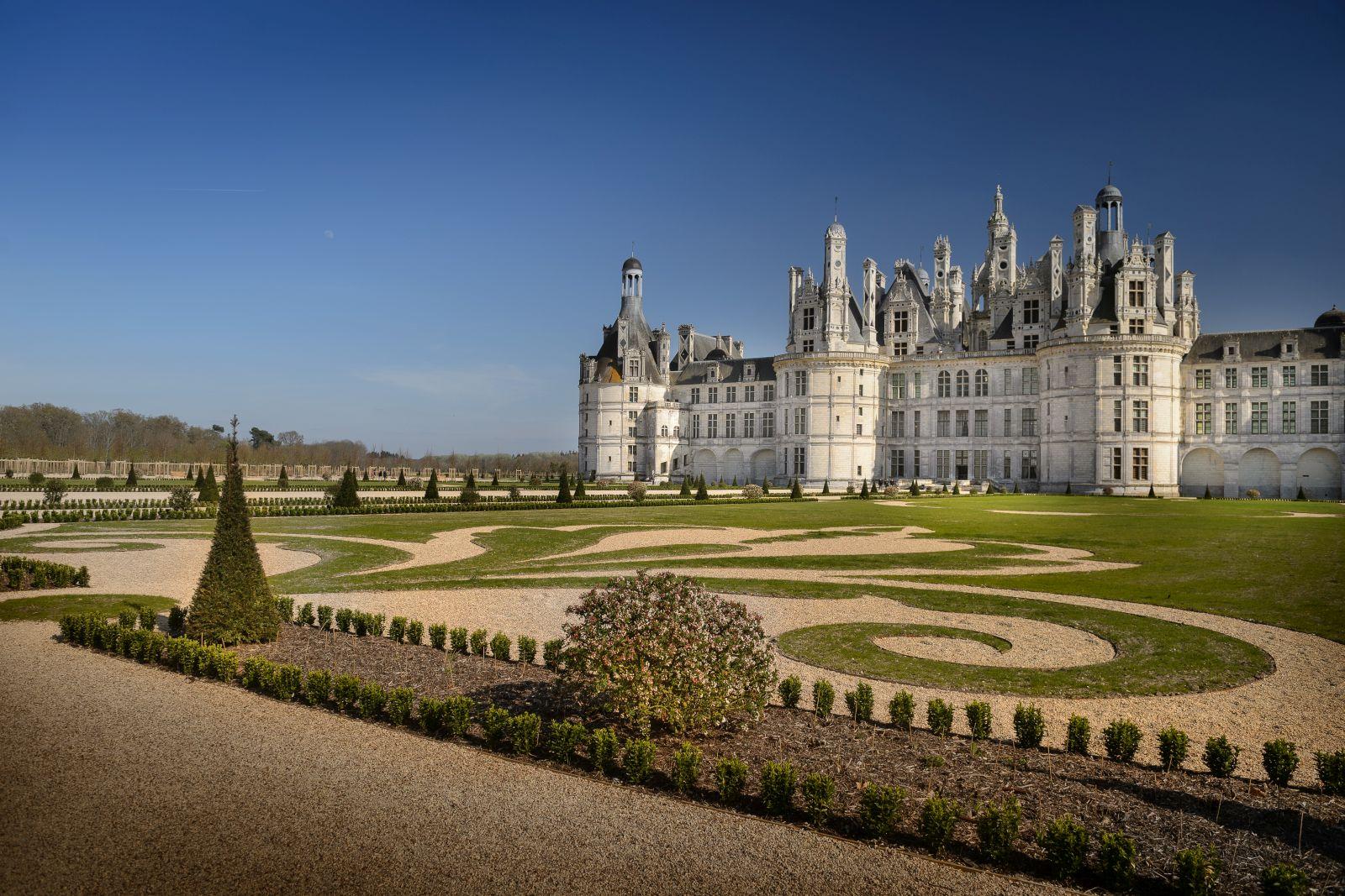 Jardin Classique À La Française les jardins du château de chambord retrouvent leur splendeur