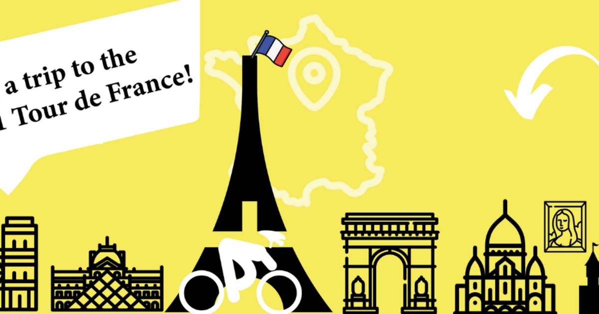 Take The Chance To Win A Trip To Paris Arrival Of The Tour De France