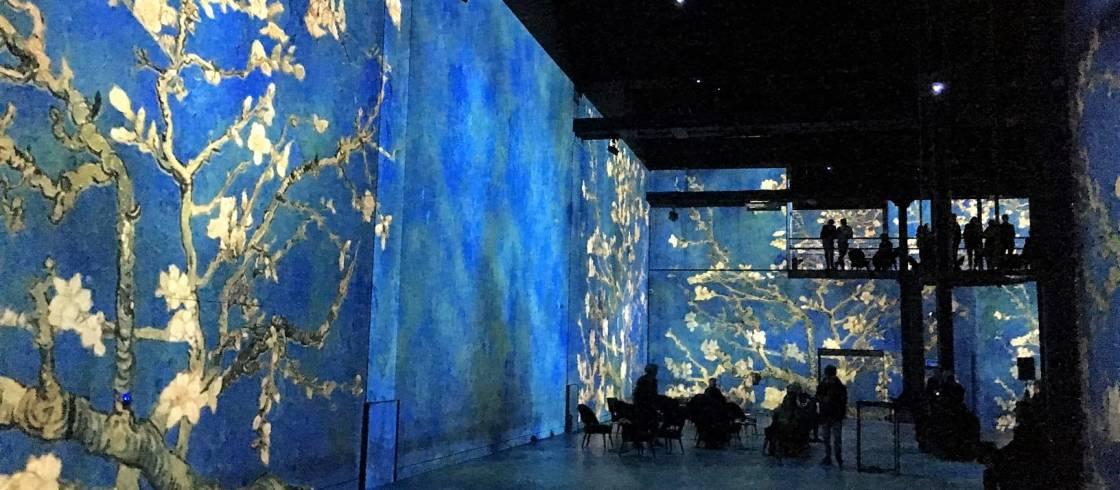 Van Gogh At The Atelier Des Lumieres In Paris