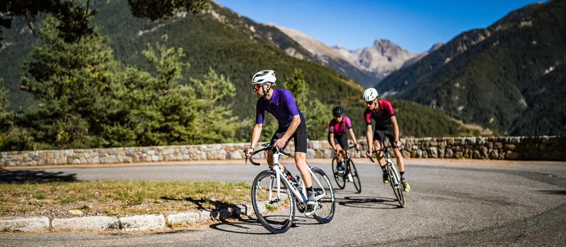 Das Umland von Nizza eignet sich perfekt für Radtouren