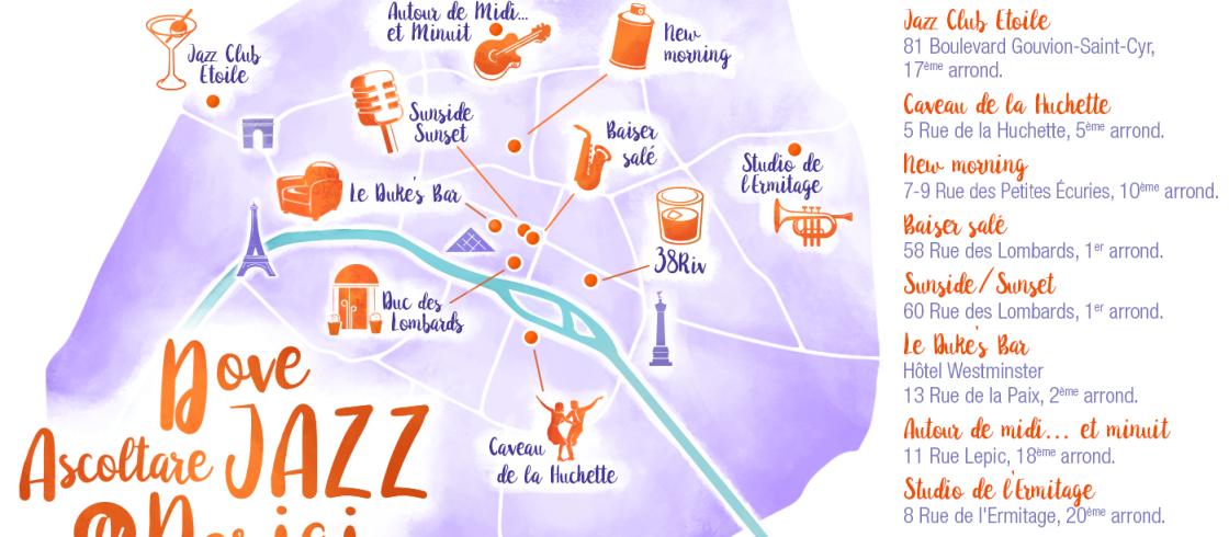 Dove ascoltare il jazz a Parigi