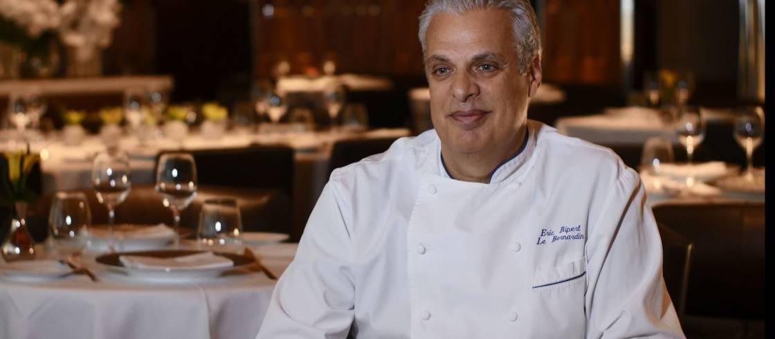 Chef Eric Ripert, a gastronomic star, tells us a bit about this year's Good France