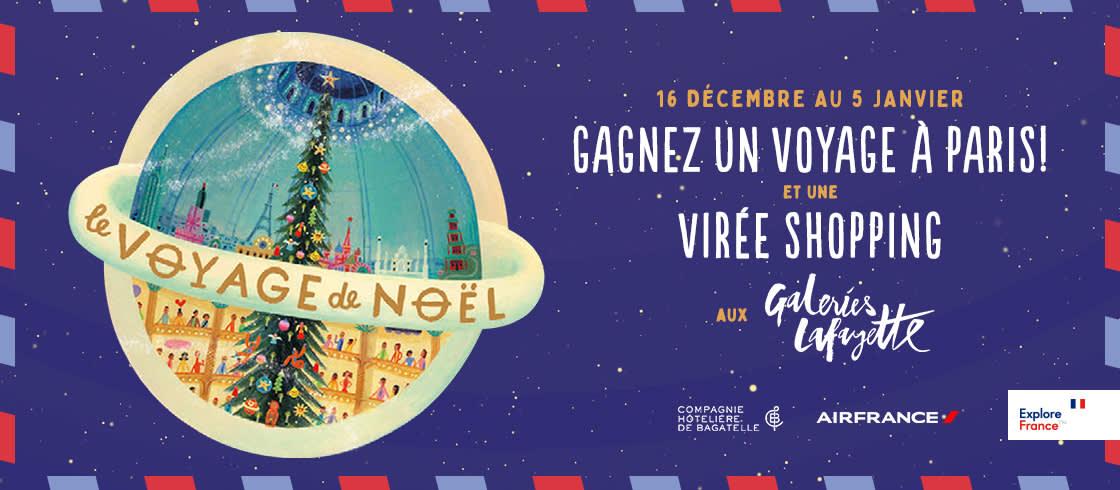 Jeu Concours Le Voyage De Noel A Paris