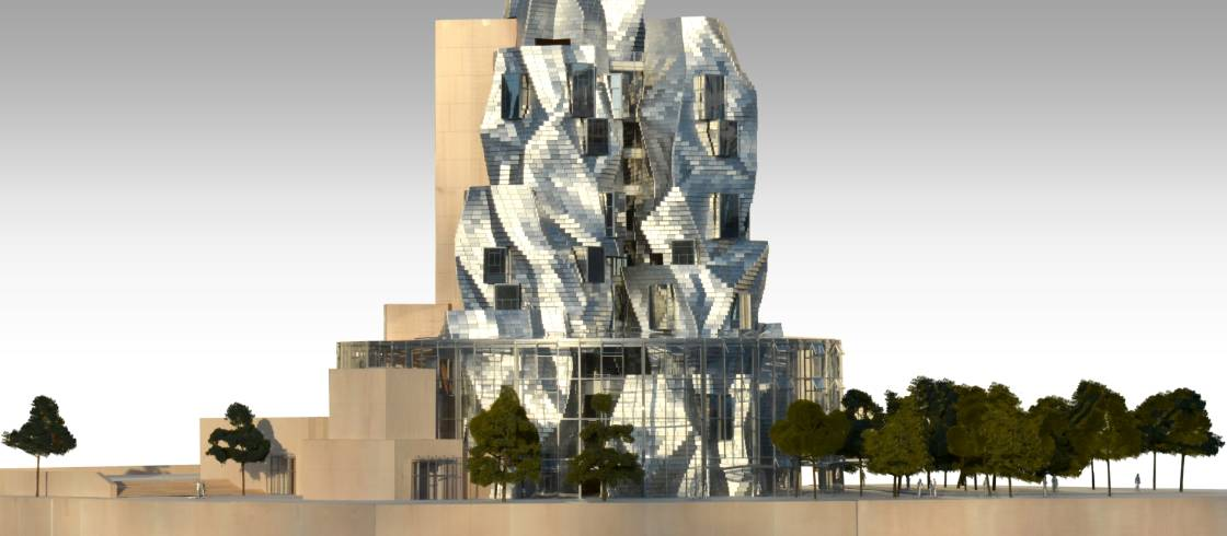 Luma Arles Kulturzentrum Des 21 Jahrhunderts