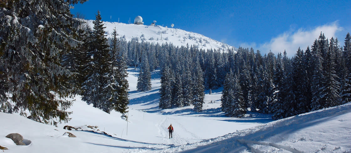 Semestra I Jurabergen I Vinter France Fr