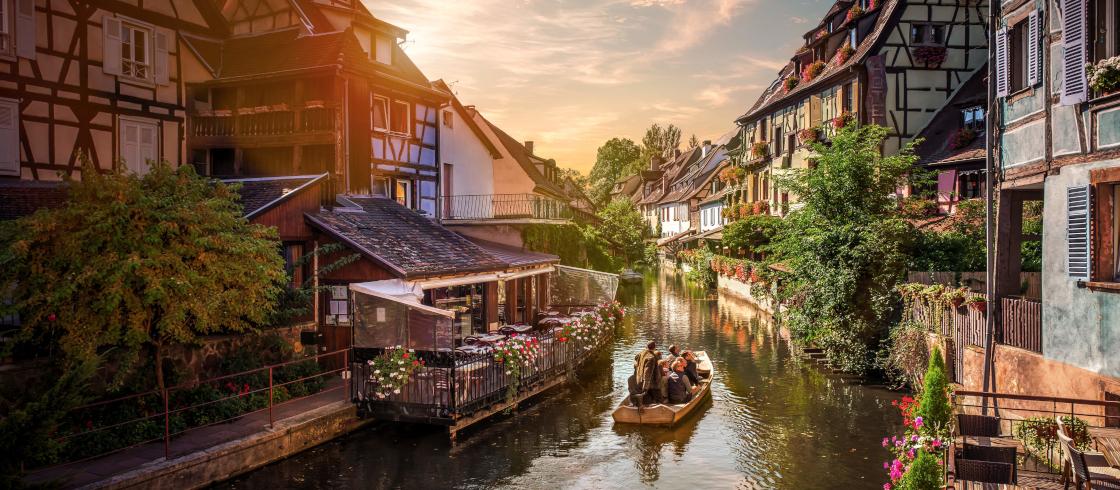 Alsazia: Colmar, la romantica