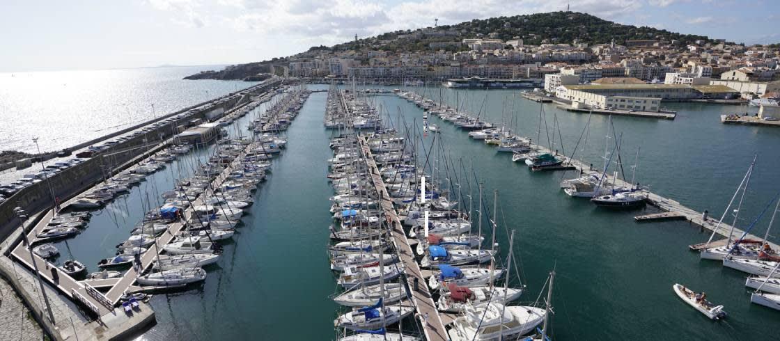 El puerto de Sète